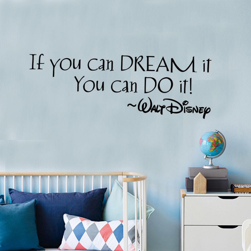 HTB1znTqRVXXXXbfXpXXq6xXFXXXI If You Can Dream It You Can Do It Inspiring Quote Wall Stickers