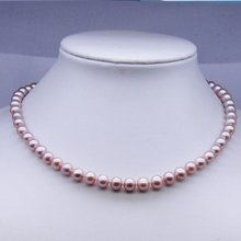 Natural Freshwater Pearl Necklace Fashion Jewelry Nice Jewellery Accessory, 30pcs/lot+Free Shipping