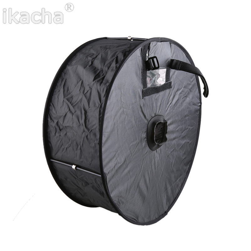 45cm Ring Softbox Speedlight Round Style Flash Light Shoot Soft box Foldable Soft (4)