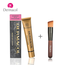 100% Original Dermacol Base Primer Makeup Brush Corrector Concealer Makeup Base consealer foundation contour Palette Waterproof