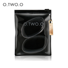O.TWO.O 2017 Spring New Product Make Up Kit Silicone Puff Transparent Silica Flawless Powder Sponge Makeup Puff