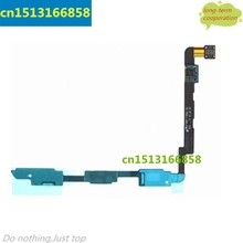 10 pieces/lot HK   Keypad Button Sensor Signal Flex Cable Replacement for Samsung Galaxy Note 2  LTE N7105