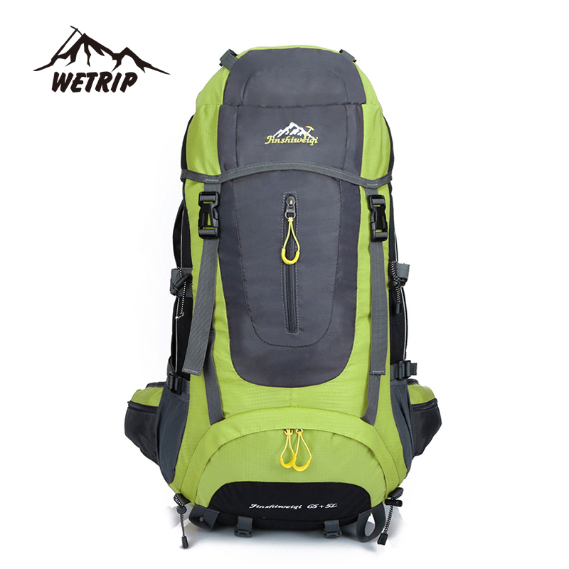 Hot Sale Mens Outdoor Climbing Backpacks Waterproof Nylon Travel Sport Mountaineering Bag Zipper Hiking Backpack Backpacker 70L<br><br>Aliexpress