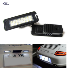 24SMD LED Number License Plate Light Kit For Porsche Boxster Cayman Carrera Cayenne 987/997/958(China)