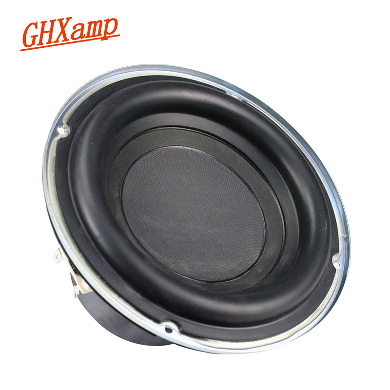 Ghxamp Subwoofer Speaker Rubber-Edge Deep-Bass 4ohm 30-Core 1 100W 1PC Long-Stroke title=