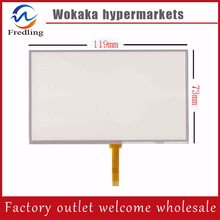 "5.0"" 4Wire Resistive Touch Screen Panel Digitizer for Explay PN-980 PN-930 PN-935(China)"