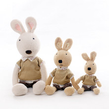 Candice guo! new arrival plush toy le sucre rabbit radish pants bloomers bunny stuffed doll kids girls lovers birthday gift 1pc(China)
