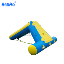 W084 3.5*2m inflatable water slide,inflatable climbing water slide,Inflatable floating water slide on sea(China)