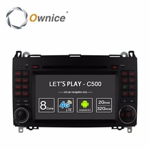 Ownice 4G SIM LTE Android6.0 8 Core 32G ROM Car DVD GPS Navi For Mercedes A-class W169 Sprinter W209 Crafter Viano Vito LT3 W245(China)