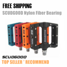 New Nylon fiber bearing Bicycle Pedal MTB Mountain /  Road bike pedal