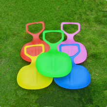 New 1pc Kids/Adult Thicken Children Plastic Grass Skiing Pad Sled Boards Snow Sledge For Winter Sports(China)