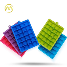 24 Grids Silicone DIY Ice Lattice Mould Square Shape Ice Cream Tray Maker Ice Container Drinking Bar Accessories