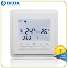 Beok TOL43-AC 2 Pipe Fan Coil Room Thermostat Clock Programming Air Conditioning Temperature Controller FCU Thermoregulator(China)