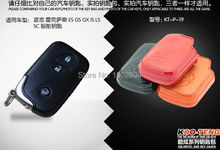 Genuine  Leather Car Remote Key Bag /Key Wallet Case Holder Cover For Lexus ES/GS/GX IS/LX/CT/RX Smart Key 3 Button