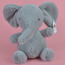 25cm Grey Color Elephant Plush Toy, Baby Gift Kids Cow Toy Wholesale with Free Shipping