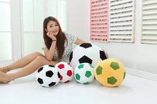 20CM Soccer Ball Pillow Plush Toy Doll Fans Tuba World Mascot Football Toys Birthday Gift