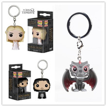 Harry Porter Funko Pop game of thrones keychain The Nightmare Before Christmas Deadpool the walking dead Doctor Who key ring