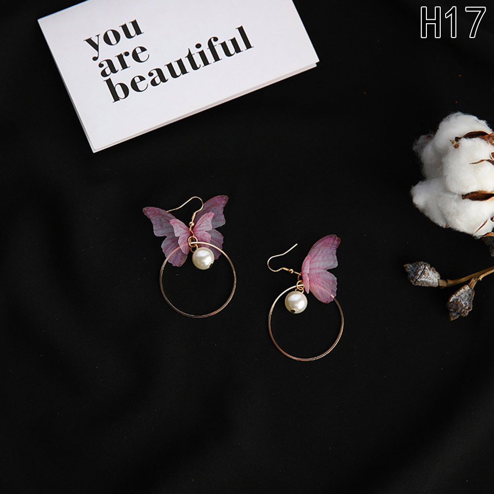 21 Designs Butterfly Wings Long Earrings*