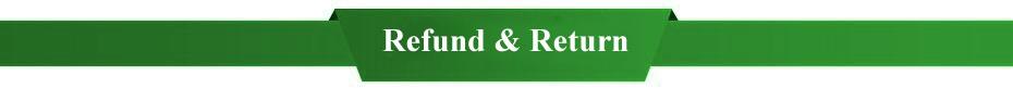 Refund or return