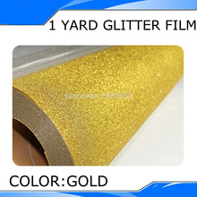 50cm*100cm T shirt heat press film/ PET Glitter Heat Transfer Vinyl by Cutter Press(China)