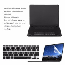 Super Thin Solid Cover Notebook Full Coverage Laptop Sleeve Case Hard Laptop Case Cover Suitable For Macbook Air 13 Notebook