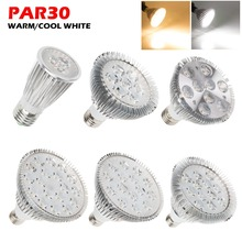 New Ultra Bright E27 PAR20 Par30 PAR38 LED Light Bulb Lamp 85-265V 6W 14W 18W 30W 36W LED SpotLight Lamp Bulbs Indoor Lighting