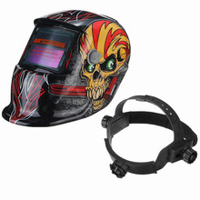 Hot Sale New Solar Welding Helmet Mask Auto-Darkening For Arc Tig mig grinding Skull