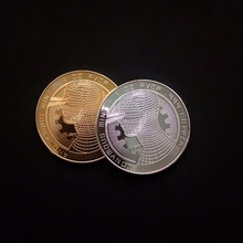 Buy Head Bitcoin commemorative coin Virtual currency badges customize for $68.80 in AliExpress store