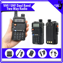 Hot New uv5r walkie  dual band radio ham radio hf transceiver