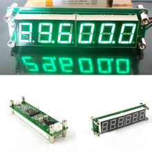 0.1 MHz~65MHz RF 6 Digit Led Signal Frequency Counter Cymometer Tester meter GREEN FOR ham radio Amplifier