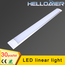 30pcs/lot 1ft 2ft 4ft LED Batten Light Cold Whtie  LED Linear light tube,85-265V CE RoHS Free Shipping