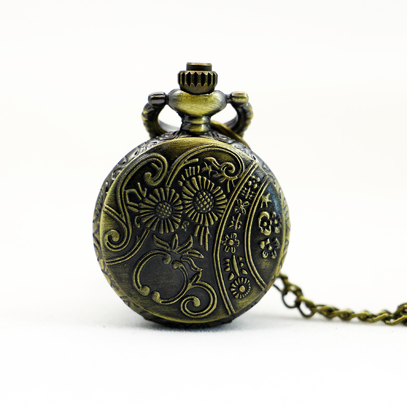 PS567-Vintage-Jewelry-New-Colorful-Enamel-Rhinestone-Movt-Flower-Pattern-Pocket-Watch-Small-Size (1)