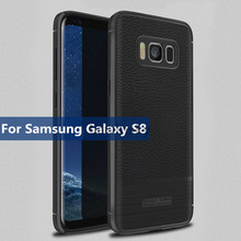 Buy Soft TPU Carbon Fiber Cover Samsung Galaxy S8 Case Leather Luxury Coque Samsung Galaxy S8 Cover Case Silicone Shockproof for $2.99 in AliExpress store