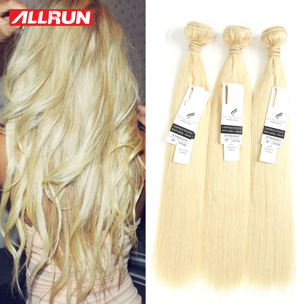 7A Malaysian Straight Hair Blonde Weave 3PCS Can Be Curled Straight Virgin Hair Bundle Deals Malaysian Virgin Hair Extension<br><br>Aliexpress