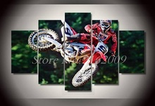 Fashion New Poster Motor Cycle HD Printed Canvas For Modern Home Wall Decor Cars Painting On Canvas Artwork US Livingroom Deco