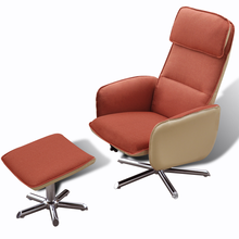 iKayaa  Recliner Adjustable Armchair For Office Orange Chair ES Stock