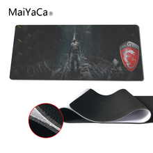 MaiYaCa The Hottest Design Msi Image Mouse Pad pad Overlock Edge Big Gaming mouse Pad Send Boy Friend the Best Gift