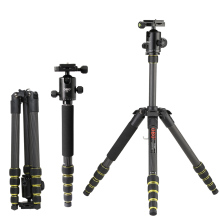 DE US STOCK OBO Foldable Photo Tripod Carbon Fiber Camera Tripod Monopod Unipod with Ball Head for Canon Nikon Sony DSLR Camera(China)