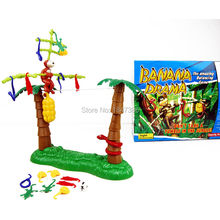 Funny Monkey walk on Wire Banana Drama Balance Multi Player Game the amazing balancing game don't take a tumble in the jungle(China)