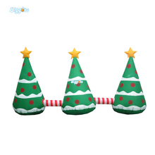 Inflatable Christmas Hat Decoration Inflatable Christmas Tree For Festival Decoration