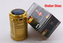 Free Shipping camping lantern Christmas Lights outdoor Multifunctional Hiking Solar Lantern with Mobile Phone Charger BXL-G85Z