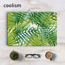 Palm Tree Green Leaf Full Cover Skin for Apple Macbook Decal Air Pro Retina 11 12 13 15 inch Mac HP Mi Notebook Laptop Stickers