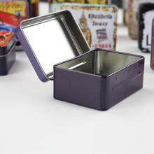 New Arrival 3D Rectangle Tinplate Box 6Piece/lot Mac Makeup Cosmetic Organizer Safe Food Container For Tea Pill Small Things