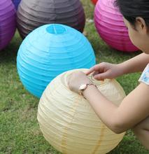 "Wedding Decoration 6PCS 12""(30CM)Chinese Paper Lantern Ball Marriage Party Decorations Holiday Style Party Supplies"