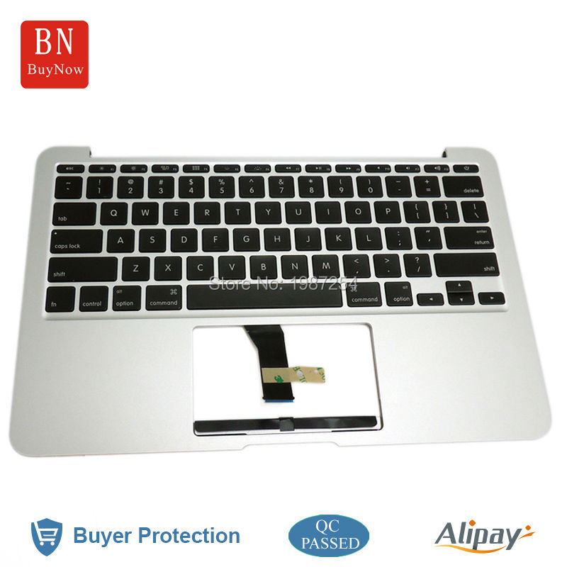 Original C Cover For Macbook Air A1370 Topcase With Keyboard in 2012 Year Replacement<br><br>Aliexpress