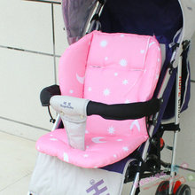 New Baby Stroller Cushion Children Cart Seat Cushion Pushchair Cotton Thick Car Seat High Chair Mat Baby Stroller Accessories(China)