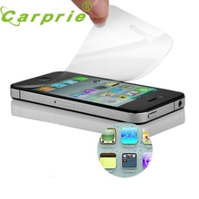 New 3x (Front+Back) Clear Screen Protector Cover Guard Film For iPhone 4 4G 4S Wholesale price LJJ0214(China)