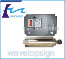 water cooling cnc spindle 2.2kw & 2.2 kw inverter