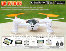 WALKERA QR W100S FPV HD Camera UFO ARTF WiFi iphone control FPV Quadcopter Quad,better than W100 + Free shipping