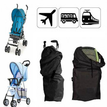 Baby Infant Child Gate Check Umbrella Standard Double Stroller Pram Pushchair Travel Bag Baby Carriage Buggy Cover